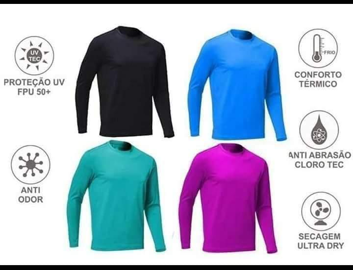 Camisa de Proteção Ultra Violeta