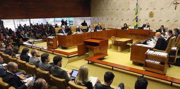 Plenário do Supremo Tribunal Federal - Foto Reprodução