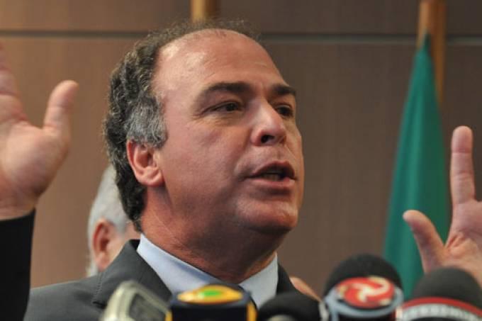 O senador Fernando Bezerra Coelhop (MDB-PE), alvo de operação da PF nesta quinta-feira (Antonio Cruz/ABr/VEJA)