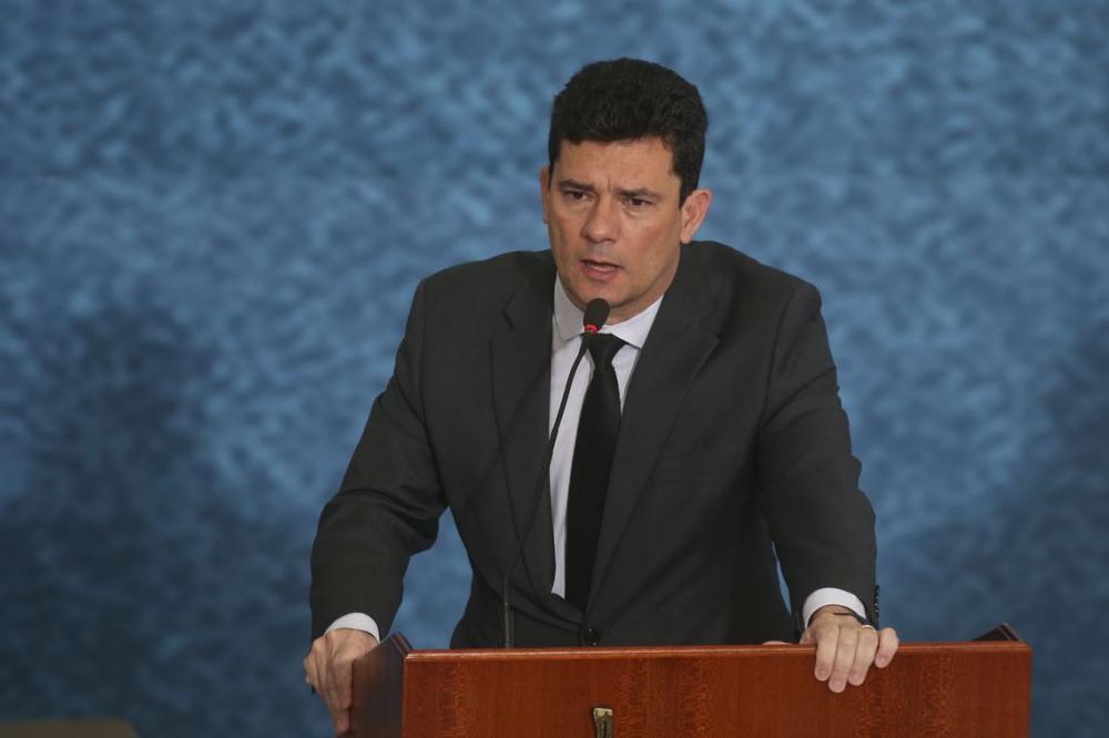 Ministro da Justiça e Segurança Pública, Sergio Moro - Foto: Antonio Cruz/ Agência Brasil