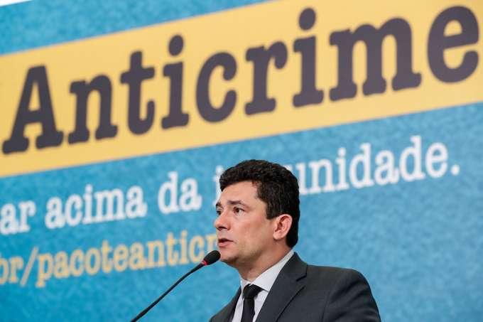 O ministro da Justiça, Sergio Moro, idealizador da campanha suspensa pelo TCU (Alan Santos/Presidência da República/Divulgação