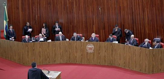 Plenário do Tribunal Superior Eleitoral- Foto Reprodução