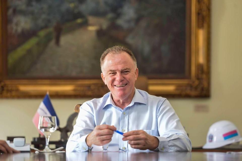 Governador Renato Casagrande - Foto Reprodução