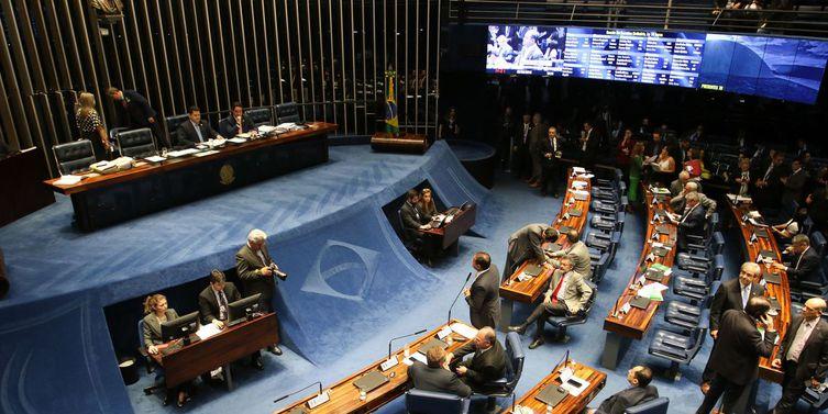 Plenário do Senado Federal - Foto Reprodução