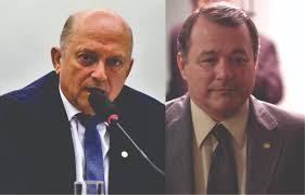 Lelo Coimbra e Marcelino Fraga disputam o comando do partido do ES - Foto Reprodução
