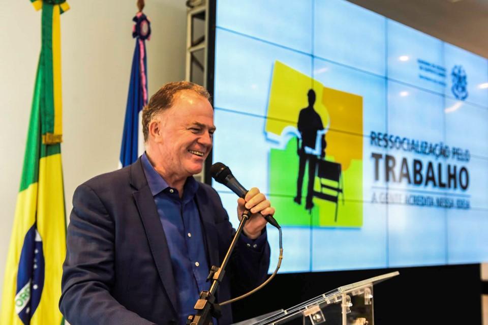 Governador Renato Casagrande - Foto Reprodução/SECOM