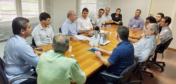 Aracruz- Equipe de transição se reúne com o atual prefeito
