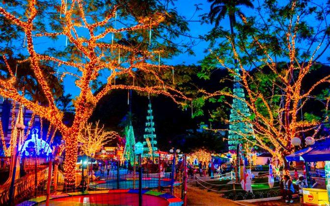 O Brilho de Natal será lançado na praça principal de Domingos Martins. – Foto: Mosaico Imagem / Divulgação