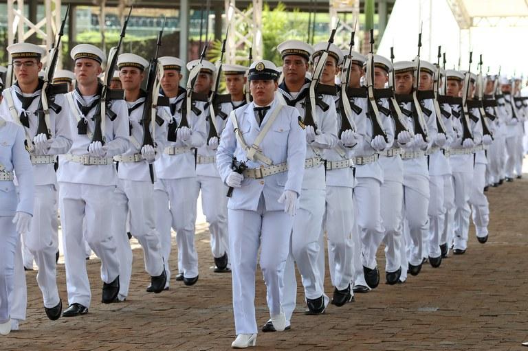 Dia do Marinheiro e Imposição da Medalha Mérito Tamandaré - Foto: Marcos Corrêa/PR