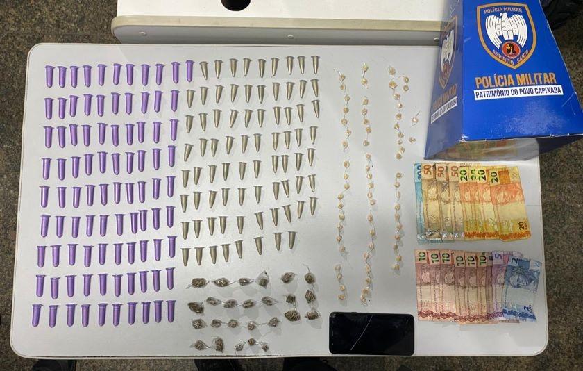 Aracruz – Polícia apreende drogas e recupera veículo