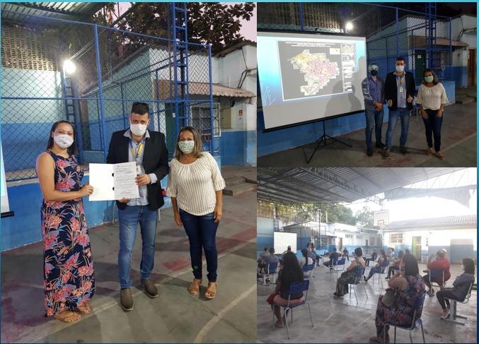 Aribiri realiza evento oficial da regularização fundiária do bairro
