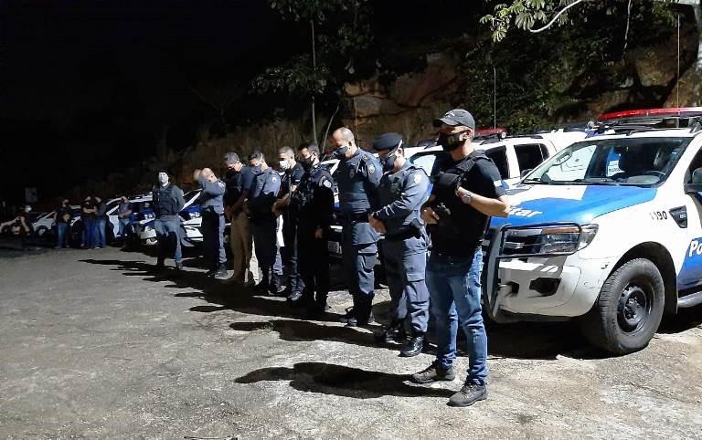Aracruz – PC e PM realizam operação integrada para o cumprimento de mandados contra suspeitos de homicídios e tráfico de drogas