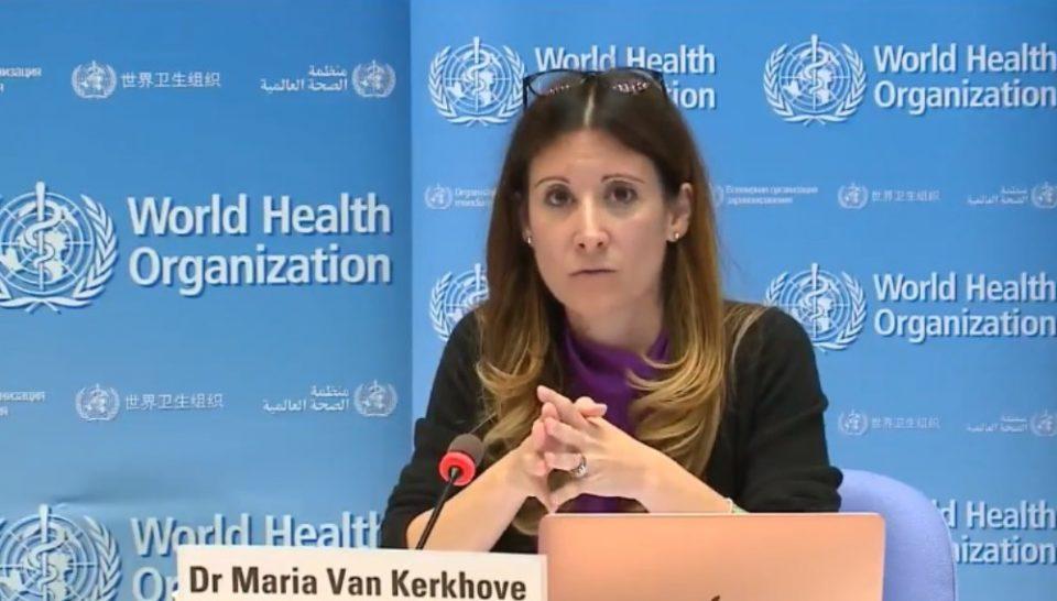 Medica infectologista Maria Van Kerkhove responsável técnica pelo time de combate à Covid-19 da Organização Mundial da Saúde (OMS) – Foto Divulgação