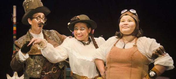 Grupo de Teatro Rerigtiba apresenta 'Uma viagem no Tempo' em Aracruz