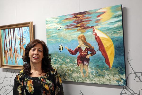 VITÓRIA - ESPAÇO CULTURAL DO TJ RECEBE OBRAS DA ARTISTA PLÁSTICA ALBA SCHWARTZ