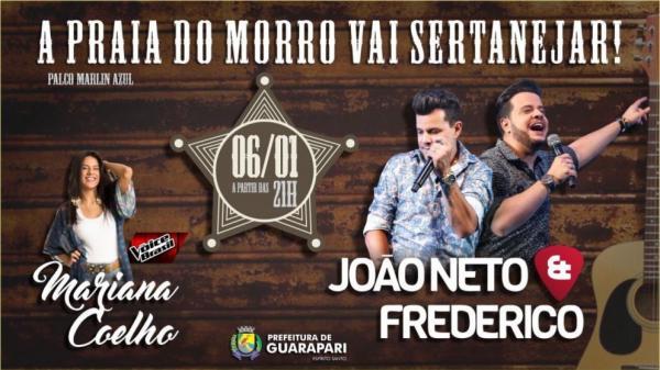 Guarapari - Praia do Morro vai receber dois shows nacionais neste sábado