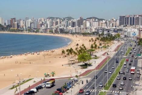 Praias de Vitória contam com 18 pontos próprios para banho