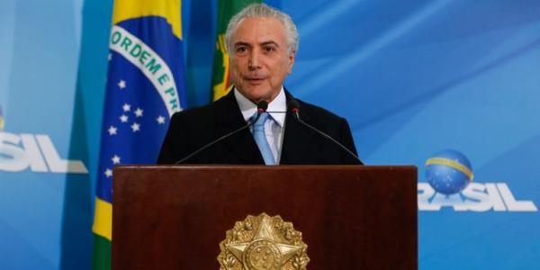 Presidente Michel Temer (MDB)