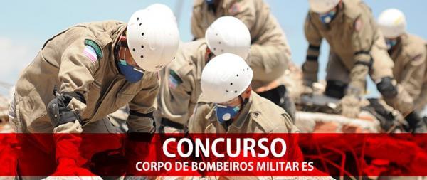 Corpo de Bombeiros do ES abre concurso público para 127 vagas