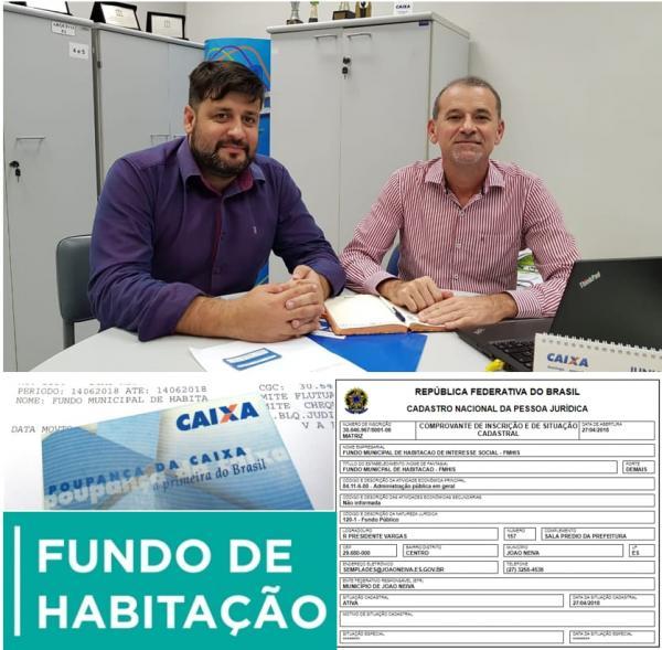 João Neiva - Prefeitura cria Fundo Municipal de Habilitação de Interesse Social