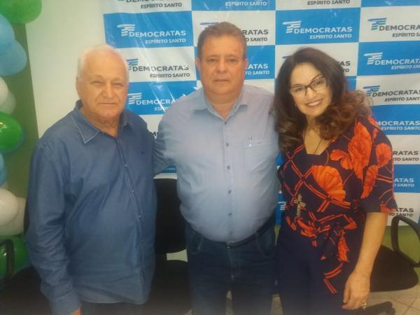 João Neiva-Democratas lançam o vereador Laerte Liesner
