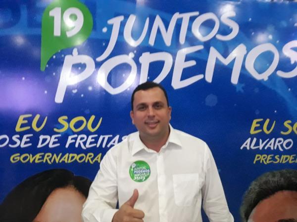 Aracruz-Podemos lança Juliano Broetto para Deputado Federal