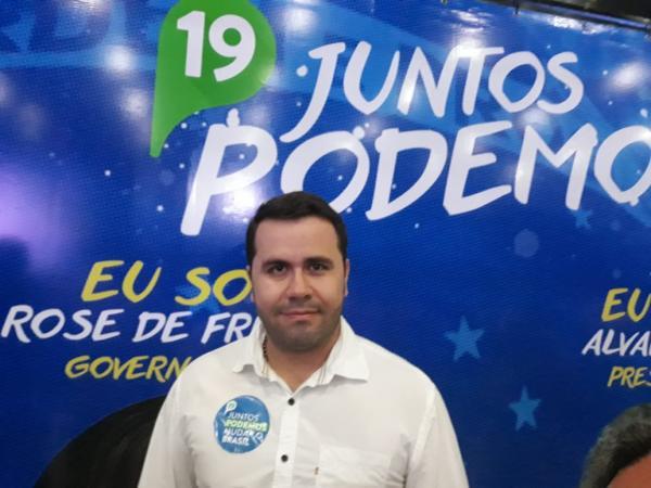 Aracruz - Podemos lança Helinho Vieira para Deputado Estadual.