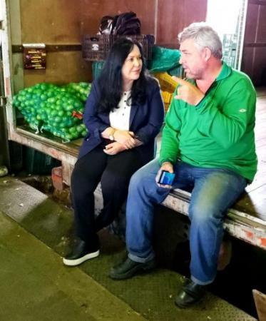 Rose de Freitas percorre municípios da região central serrana do Espírito Santo