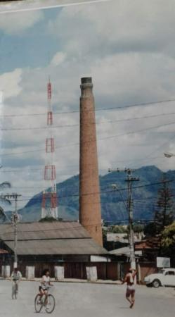 Aracruz. com a sua indústria extrativa até os anos 90