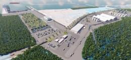 Projeto da construção do porto da Imetame em Aracruz - Foto Divulgação
