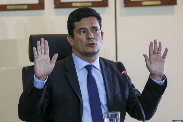 O futuro ministro da Justiça, Sergio Moro, em entrevista coletiva - Fabio Rodrigues Pozzebom/Agência Brasil