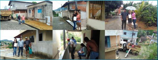 João Neiva - Prefeitura faz entrega de telhas para famílias que tiveram  telhado avariado  devido as chuvas