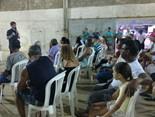 O prefeito Joilson Rocha Nunes, autoridades locais e comunidade participaram de evento com o secretário da Sedurb, Marcelo de Oliveira
