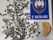 Fundão - Drogas são apreendidas pela polícia
