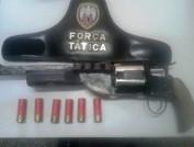 Aracruz - Polícia Militar apreende arma de fogo