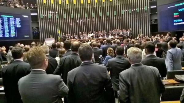Plenário da Câmara dos deputados - Foto Reprodução