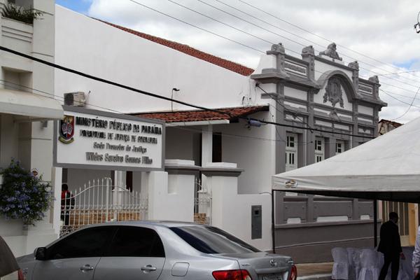 Sede do Ministério Público em Guarabira
