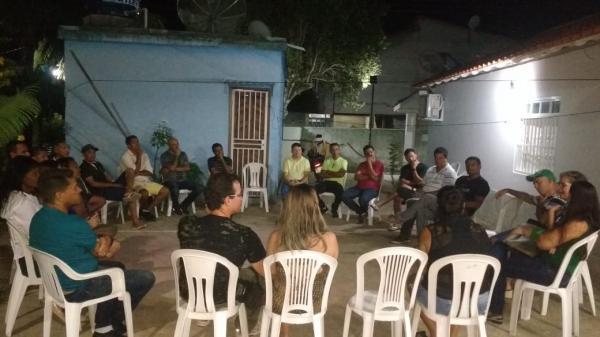 Reunião de integrantes de partidos
