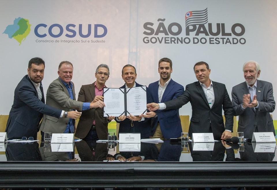 Encontro do Consórcio de Integração Sul e Sudeste (Cosud) - Foto Reprodução