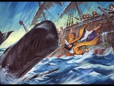 Jonas e a baleia (Desenhos Bíblicos)